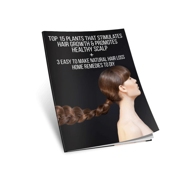 Free Ebook Top 15 plants that stimulates hair growth & promotes healthy scalp & natural home remedies