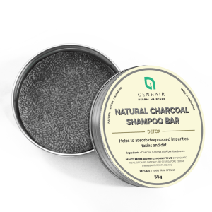 Natural Organic Charcoal Shampoo Bar