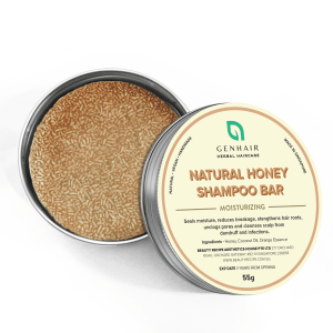 Natural Organic Honey Shampoo Bar