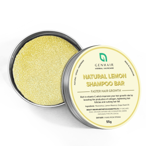 Natural Organic Lemon Shampoo Bar