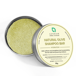 Natural Organic Olive Shampoo Bar