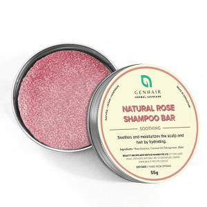 Natural Organic Rose Shampoo Bar