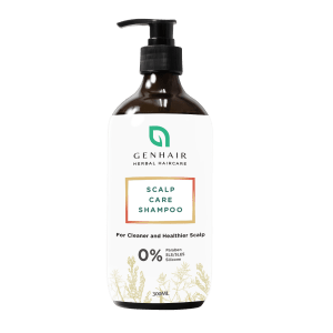 Genhair herbal scalp care shampoo hair loss growth