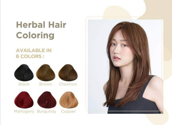 Genhair Herbal Hair Colouring chemical free