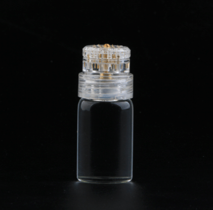 24K Gold Plated Micro Infusion Glass Bottle