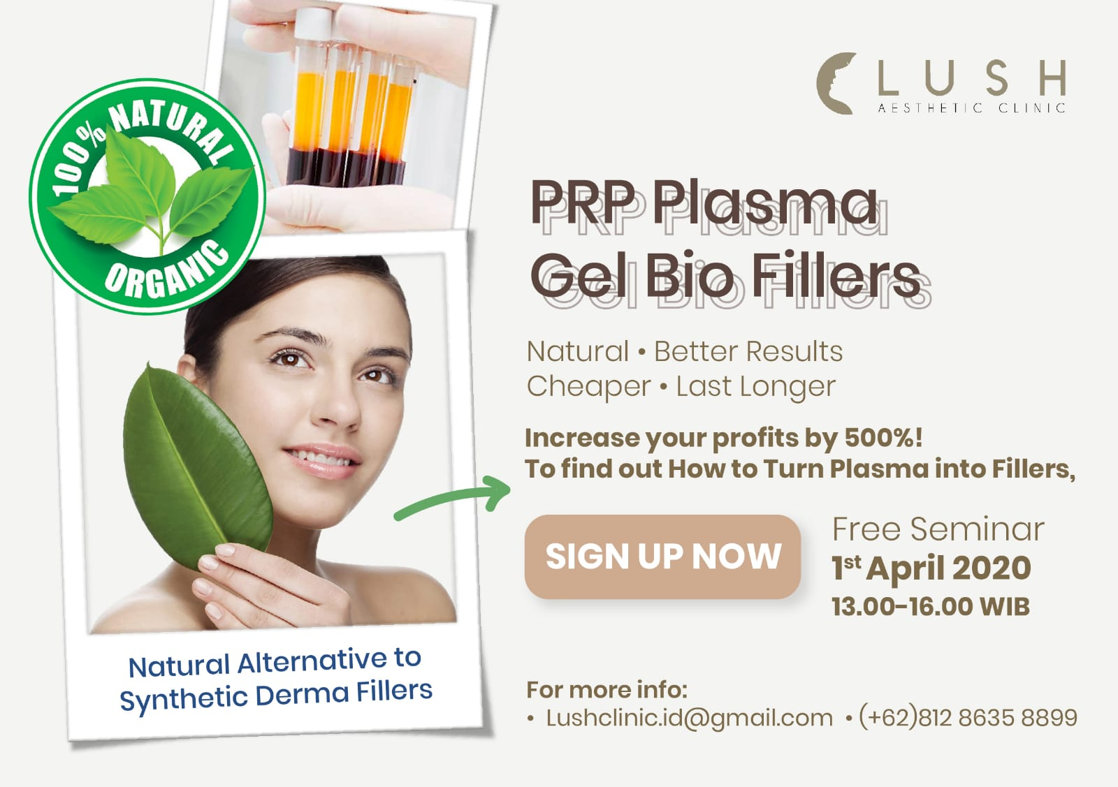 PRP Plasma Gel Bio Derma Fillers Training Machine Heater
