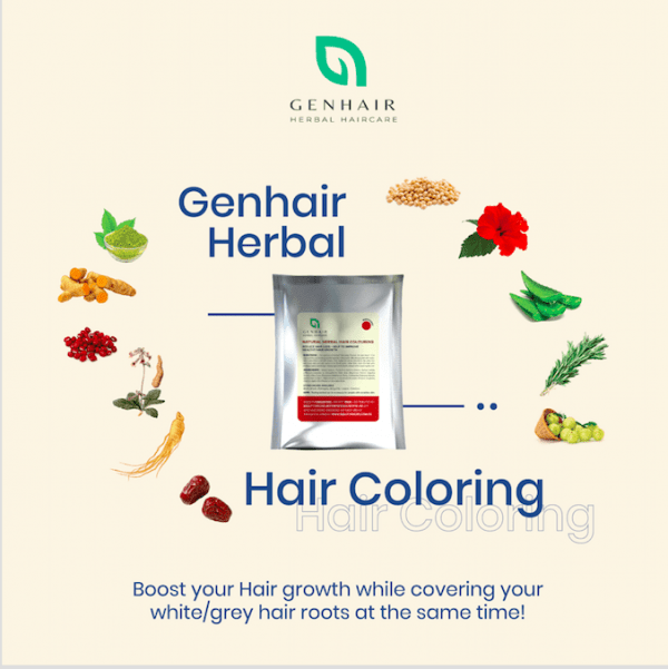Herbal Hair Colouring Organic Natural Henna