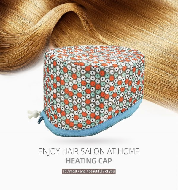Thermal Heat Hair Spa Cap Home Steamer